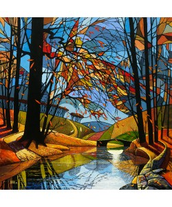 David James, Autumn Stream