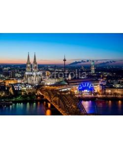 davis, Cologne Night Cityscape
