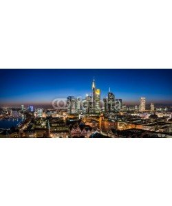davis, Frankfurt Cityscape