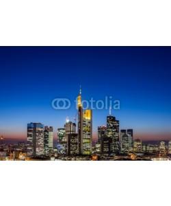 davis, Frankfurt Skyline