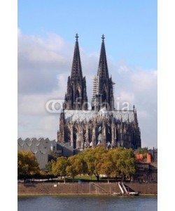 dedi, Kölner Dom am Rhein