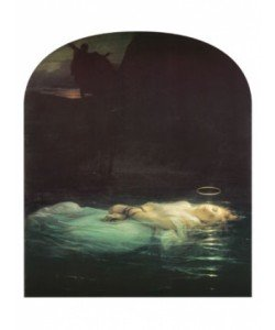 Hippolyte Paul Delaroche, The Young Martyr, 1855