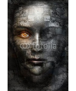 dflohr, Dark face