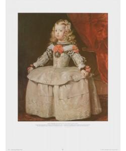 Diego Rodriguez de Silva Y Velasquez, Infantin Margaretha Teresa in weißem Kleid, 1656