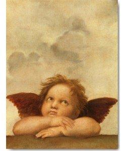 Die Sixtinische Madonna (Detail) VI, Raffael