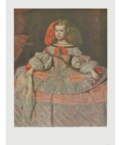Diego Rodriguez de Silva Y Velasquez, Die Infantin Margaretha Theresa