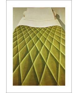 Domenico Gnoli, Green Bed Cover, 1969