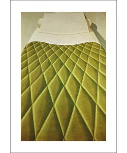 Domenico Gnoli, Green Bed Cover, 1969