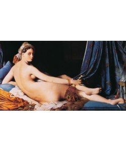 Jean-Auguste-Dominique Ingres, La Grande Odalisque