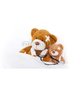 drubig-photo, bären im bett