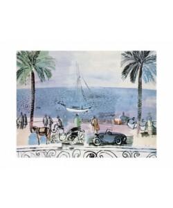 Raoul Dufy, Promenade a Nice