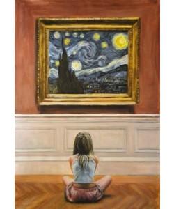 Escha Van den Bogerd, Watching Starry Night I
