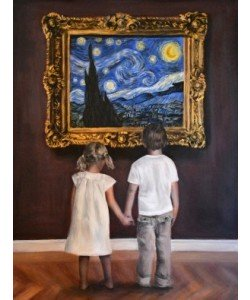 Escha Van den Bogerd, Watching Starry Night II