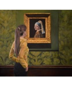 Escha Van den Bogerd, Watching Girl with a Pearl Earring