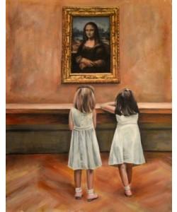 Escha Van den Bogerd, Watching Mona Lisa