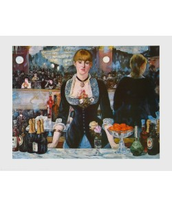 Édouard Manet, Bar in den Folies Bergère, 1881
