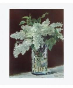 Édouard Manet, Der Fliederstrauß (Kupfertiefdruck)