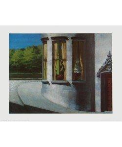 Edward Hopper, August in der Stadt
