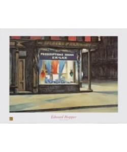 Edward Hopper, Drug Store, 1927