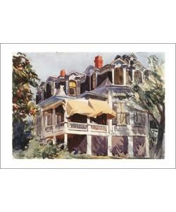 Edward Hopper, The Mansard Roof, 1923