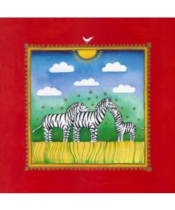 Linda Edwards, Three little zebras