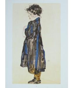 Egon Schiele, Bauernmädchen - 1912