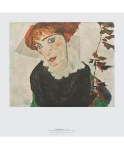 Egon Schiele, Bildnis Wally Neuzil, 1912