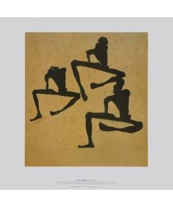 Egon Schiele, Komposition dreier Männerakte, 1910