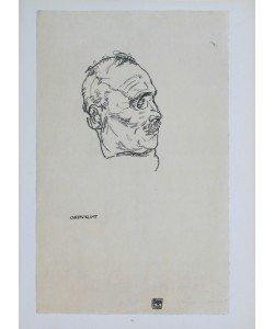 Egon Schiele, Der tote Gustav Klimt - 1918