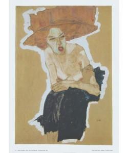 Egon Schiele, Die Hämische - 1910