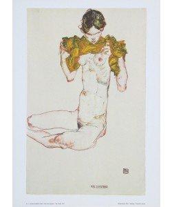 Egon Schiele, Die Jungfrau - 1913