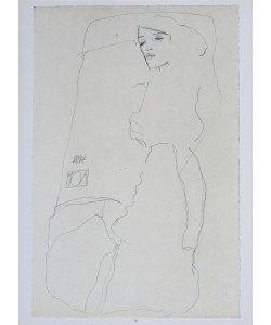 Egon Schiele, Die Tänzerin Moa - 1911