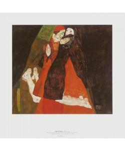 Egon Schiele, Kardinal und Nonne, 1912