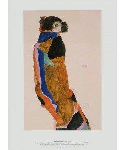 Egon Schiele, Moa, die Tänzerin, 1911