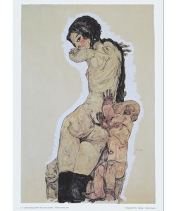 Egon Schiele, Mutter und Kind - 1910