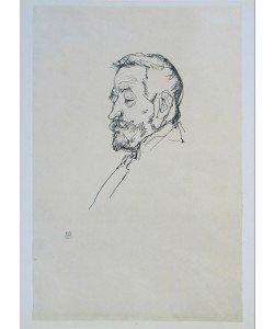Egon Schiele, Portrait Heinrich Benesch - 1913