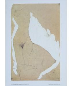 Egon Schiele, Weiblicher Torso - 1911