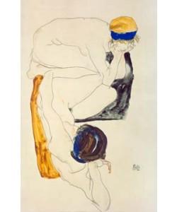 Egon Schiele, Zwei liegende Figuren
