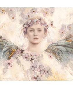 Leinwandbild, Elvira Amrhein, Air de printemps II, Seitenflächen weiß