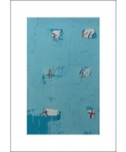 Enrico BERTELLI, Senza titolo, 2000 (Büttenpapier)
