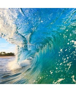 EpicStockMedia, Breaking Ocean Wave Crashing over Camera