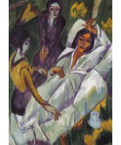 Ernst-Ludwig Kirchner, Frauen beim Tee