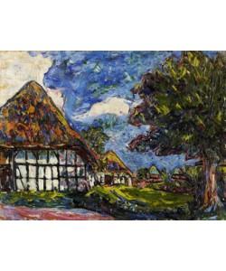 Ernst-Ludwig Kirchner, Häuser auf Fehmann