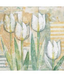 Eric Barjot, White Tulips