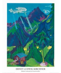 Ernst-Ludwig Kirchner, Bndner Landschaft
