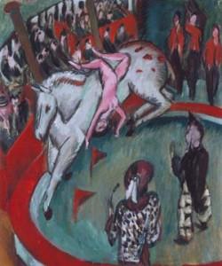 Ernst-Ludwig Kirchner, Die Zirkusreiterin