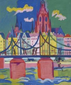 Ernst-Ludwig Kirchner, Frankfurter Dom