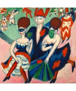 Ernst-Ludwig Kirchner, Maskentänzer