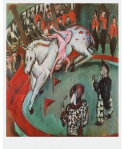 Ernst-Ludwig Kirchner, Zirkusreiterin