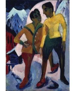 Ernst-Ludwig Kirchner, Zwei Brüder